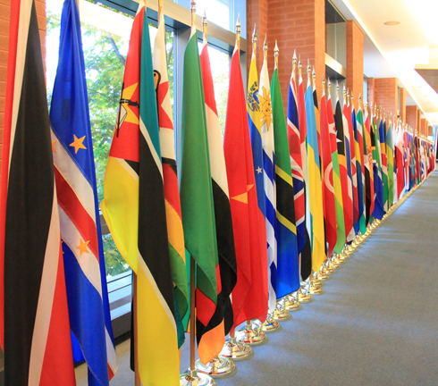 Flags of IPU member states