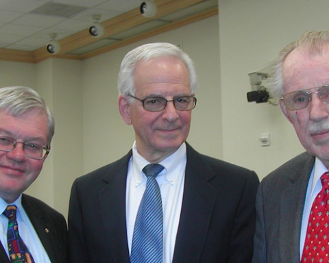 Three Musketeers of ASPO