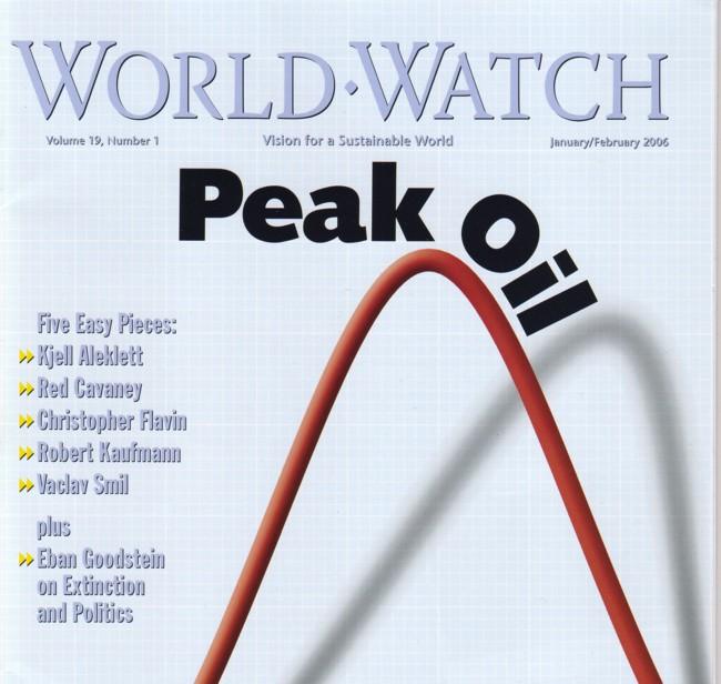 World Watch peak oil