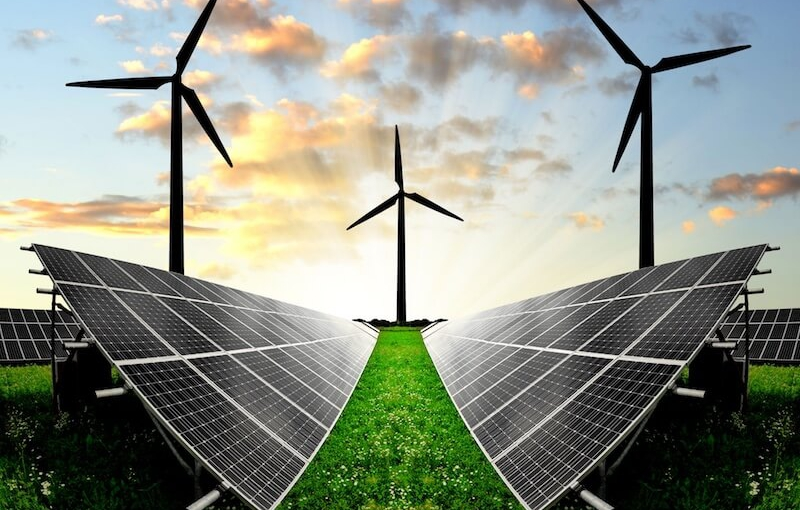 alternative energy wind solar panels