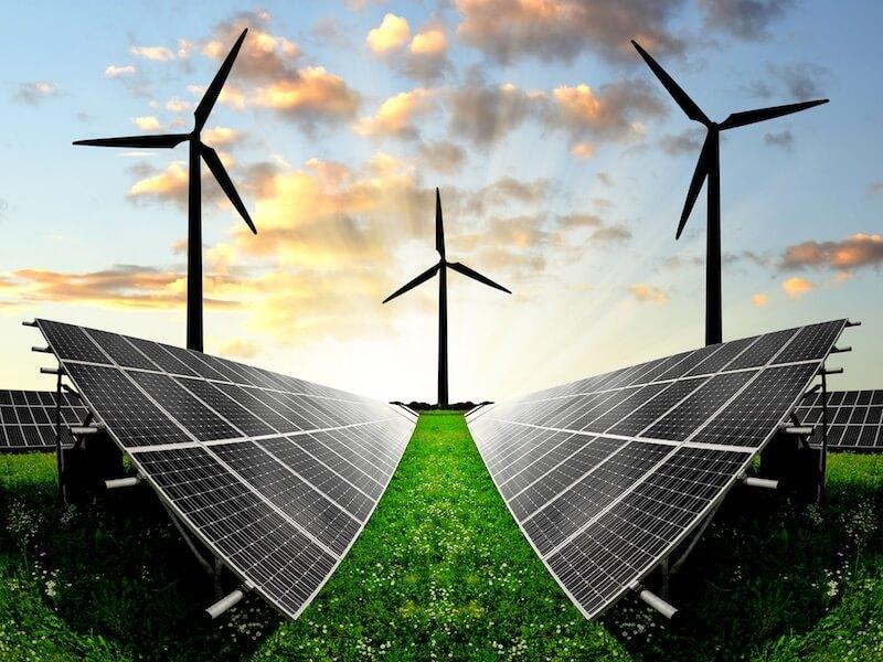 alternative energy wind solar panels