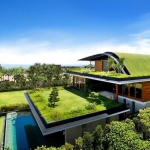 Green construction and design for sustainable living